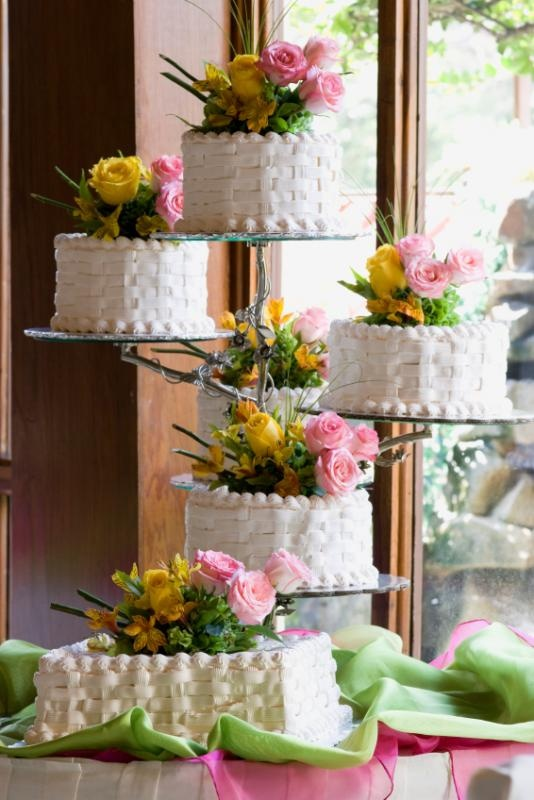 5 separate wedding cakes 17 best images about basket weave cakes on 10450