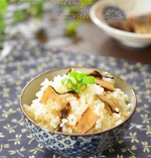 炊飯器からストウブまで!「松茸ごはん」の作り方まとめ | くらしの ... ④シャトルシェフで松茸ごはん