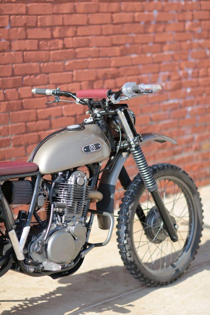 76 best classic mx images on pinterest dirt biking for Garage yamaha scooter