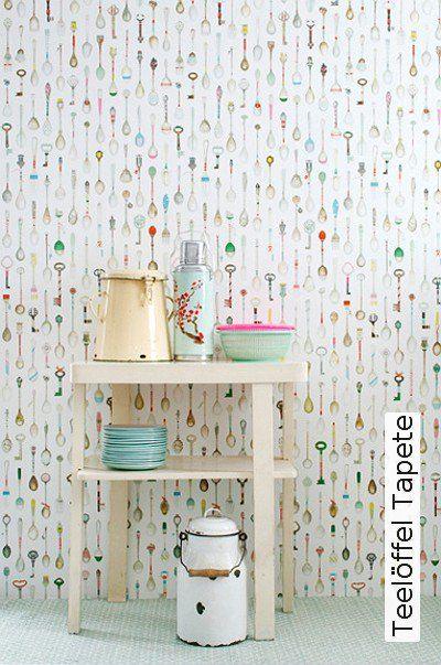 38 best mein zimmer images on Pinterest Live, Wallpaper and - abwaschbare tapete küche