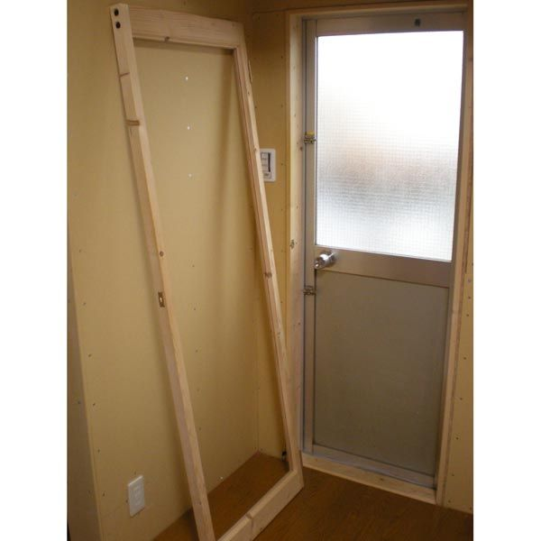 Diy 二重ドア 断熱 勝手口 建具 自作 木製 Diy的ライフ 内窓
