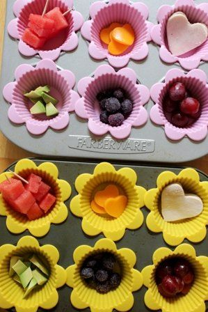 I love this idea for muffin tin meals to help your little