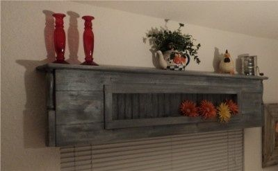 Wood Valance Boxes Wooden Cornice Display Shelf
