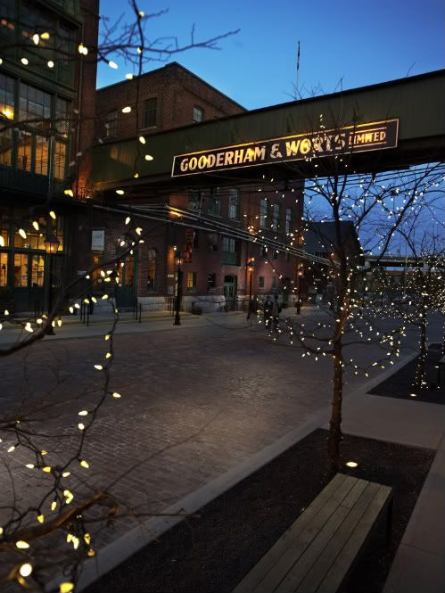 Explore the Distillery District: the largest and most well preserved collection of Victorian Industrial architecture in North America. Once the Gooderham and Worts Distillery and now home to a series of independent businesses. Stop 22 with Citysightseeing.