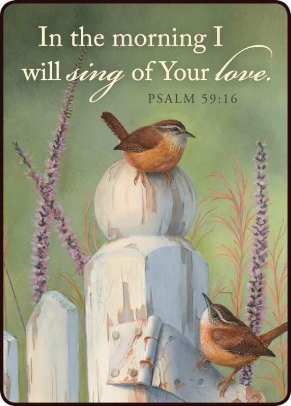 Psalm 59:16 #scripture