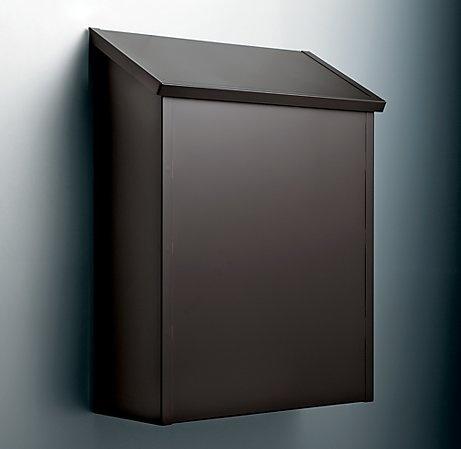 Vertical Mailbox Exteriors Inspiration Modern Mailbox