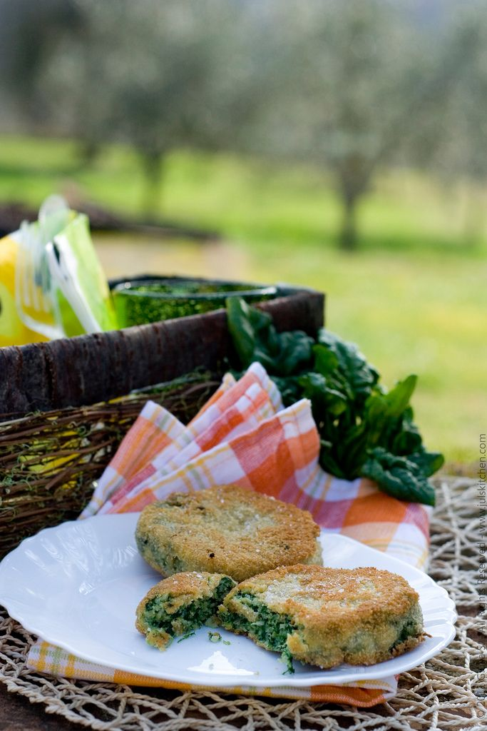 Chicken and spinach patties - Juls' Kitchen