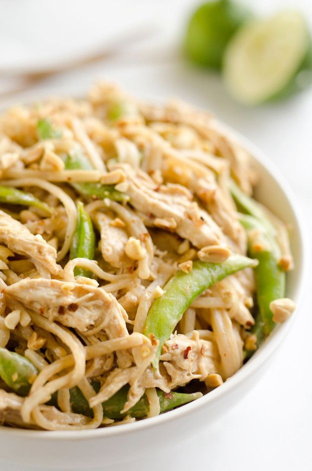 Thai Peanut Chicken - 21 Easy & Delicious Dinner Recipes To Make In Your New Instant Pot!