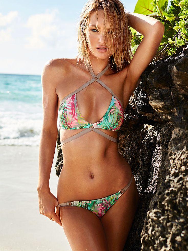 Strappy Wrap Halter Bikini - Very Sexy - Victoria's Secret - Candice Swanepoel: