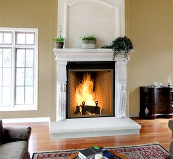 Best Fireplaces Images On Pinterest Fireplace Design Wood