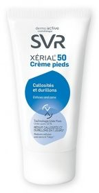 Illustration Xerial 50 Crème Pieds 50 ml