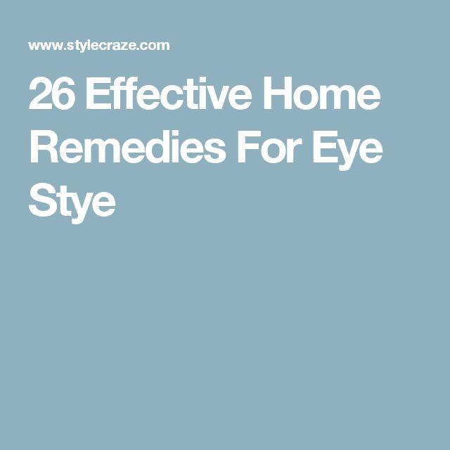 26 Effective Home Remedies For Eye Stye