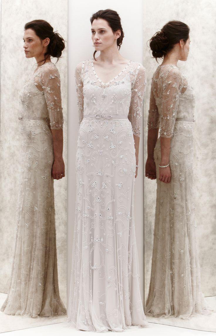 78 images about blanc sur blanc on pinterest orange for Jenny beckman wedding dresses