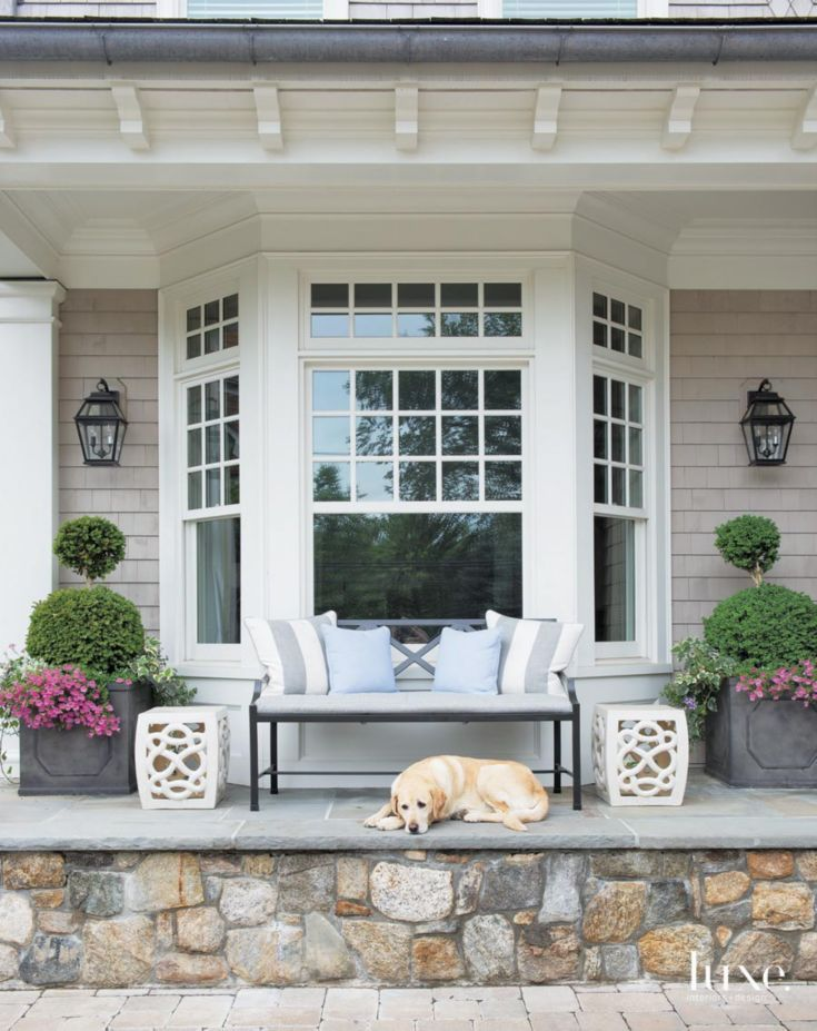 11 Ways to Add Instant Curb Appeal. Bay Window ...