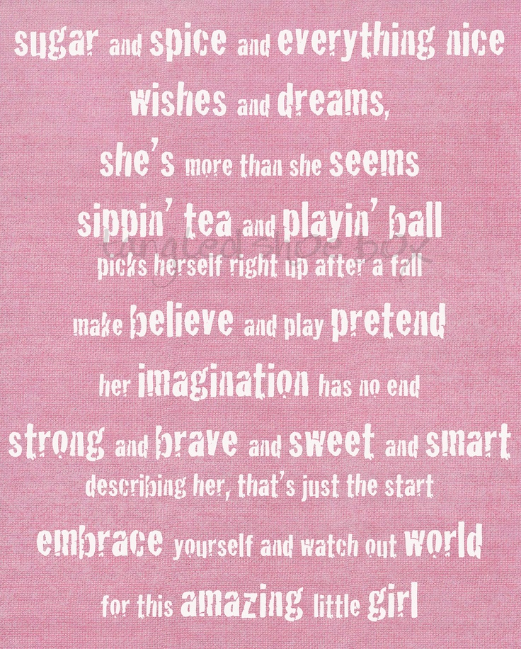 Top Girl Quotes: 25+ Best Ideas About Little Girl Sayings On Pinterest