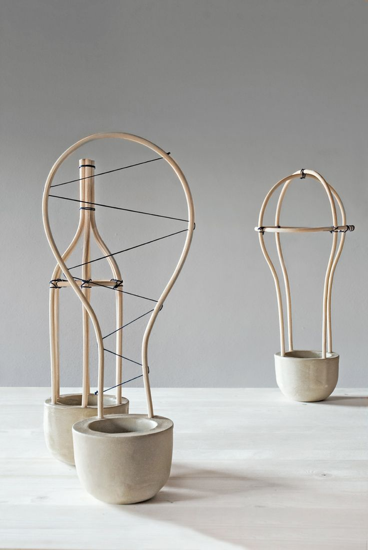 Workbench of Alberto Fabbian and Paola Amabile / a collaboration between two traditional artisan realities as wicker and clay