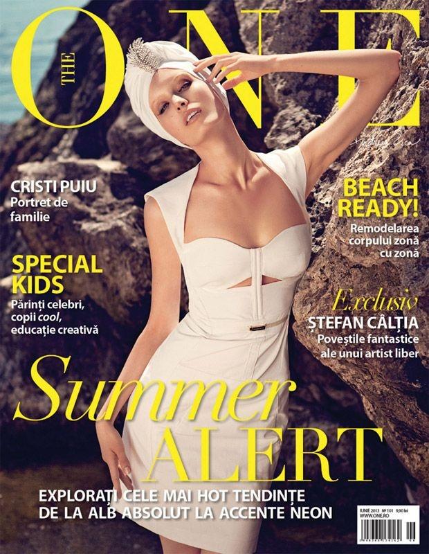 The One Magazine Cover [Romania] (June 2013)