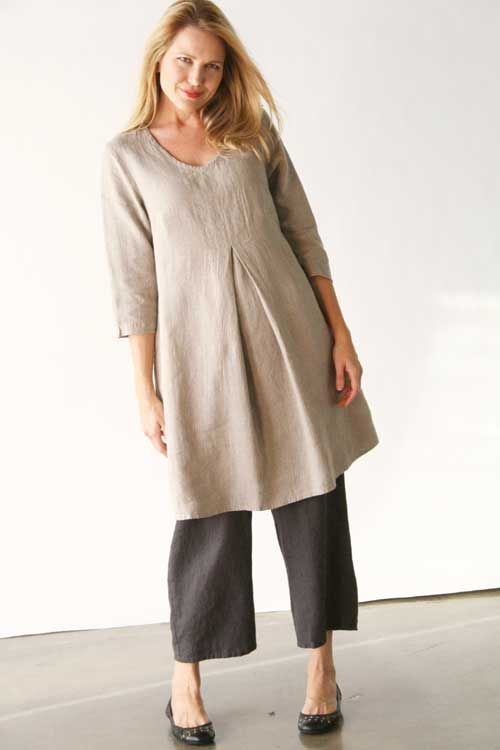Product Image: Woodstock Dress in FLAX Clothing NEW : Flax Neutral 2014