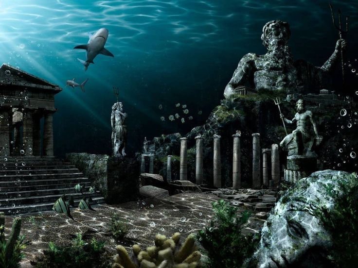 Researchers Are One Step Closer To Discovering The Ancient Lost City Of Atlantis - ALLDAY