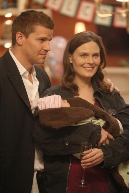 Bones...Booth, Brennan, and Christine as a family <3 <3 <3