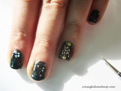 Nail art: Rock Tree