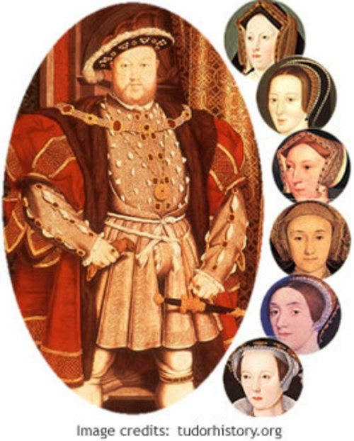 Six wives of King Henry VIII