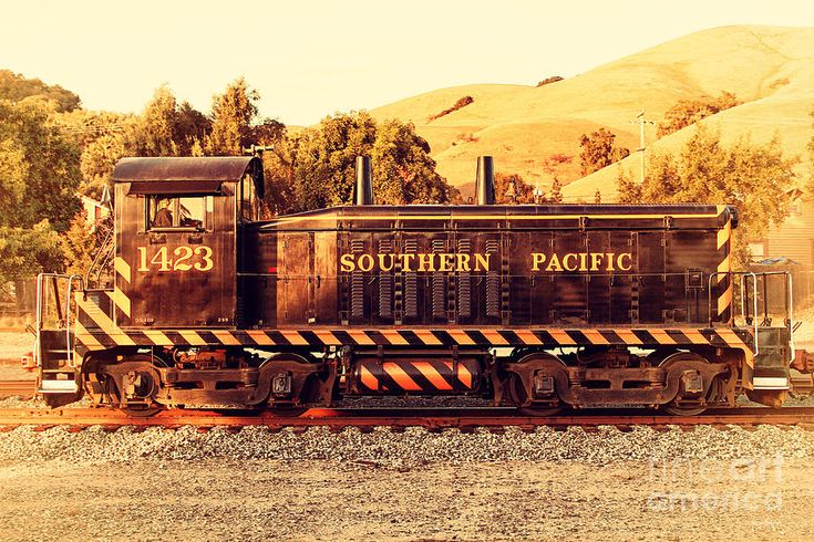 Historic niles trains in california old southern pacific
