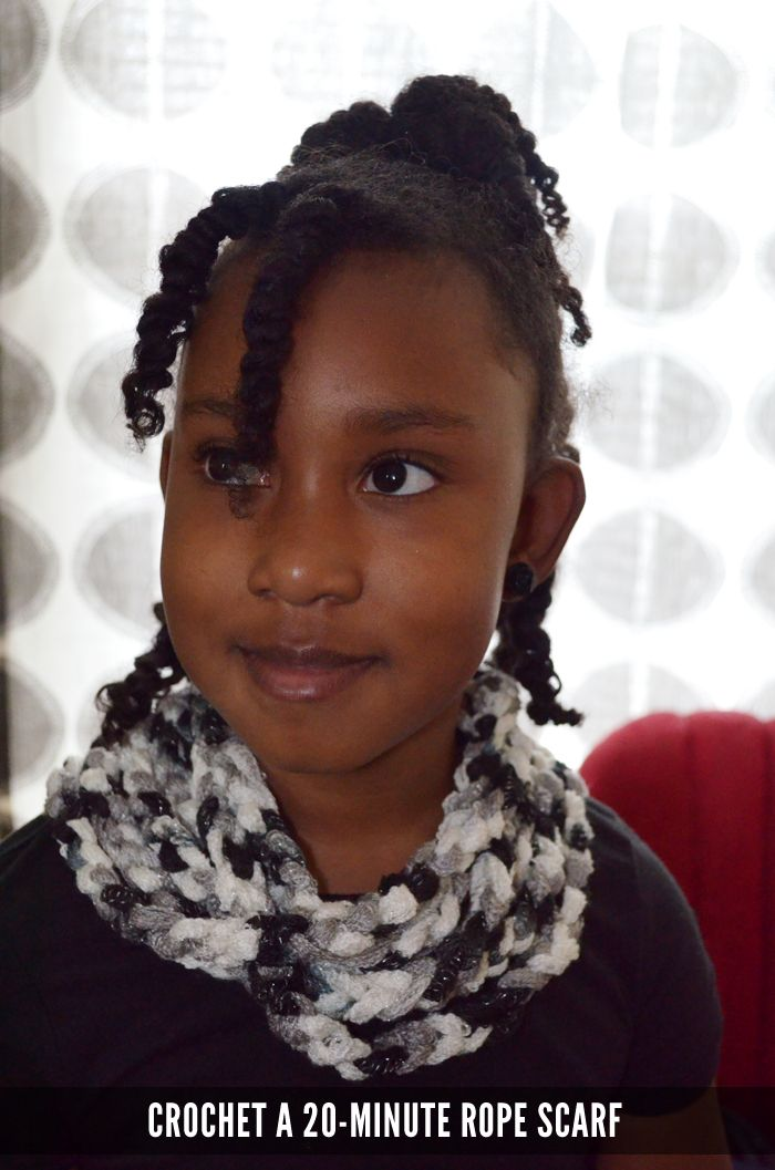 Make a 20-Minute Rope Scarf with Sashay Yarn
