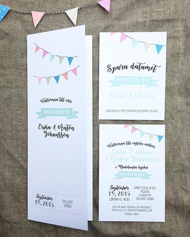 Önskemål om design från kund. Trycksaker till bröllop #festprogram…