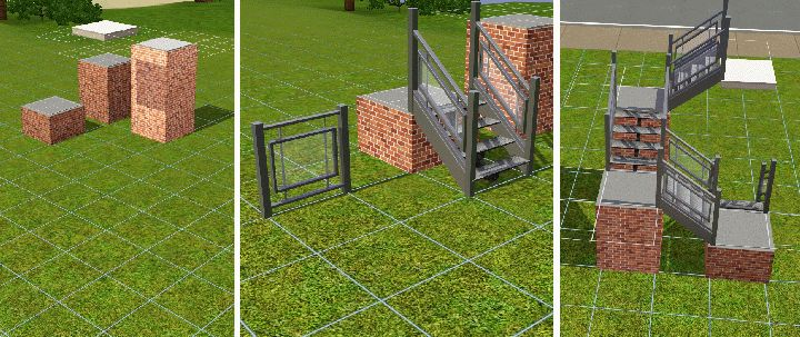 The Sims 3 Tutorials: Stairs and Advanced Staircases