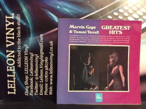 Marvin Gaye & Tammi Terrell Greatest Hits LP Album Vinyl STML11153 Motown 60's Music:Records:Albums/ LPs:R&B/ Soul:Motown