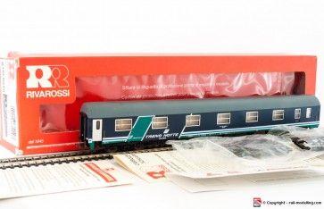 RIVAROSSI RT600010 - 1:87 - Carrozza letti viaggiatori FS treno notte class in livrea XMPR