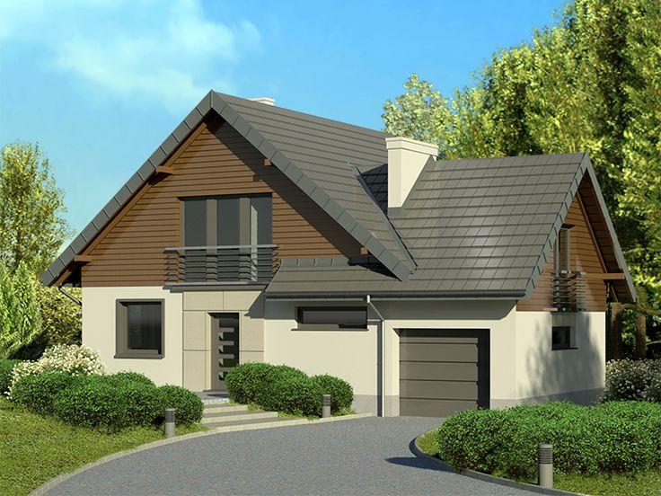 DOM EB3-13 - gotowy projekt domu