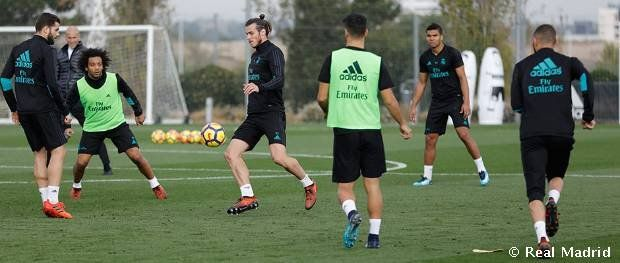 awesome Bale, Carvajal and Varane return to training with the group Check more at http://www.matchdayfootball.com/bale-carvajal-and-varane-return-to-training-with-the-group/