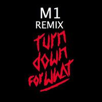 Turn down for what DJ M1 REMIX (repload) by DJ M1 (SLOGAN) on SoundCloud