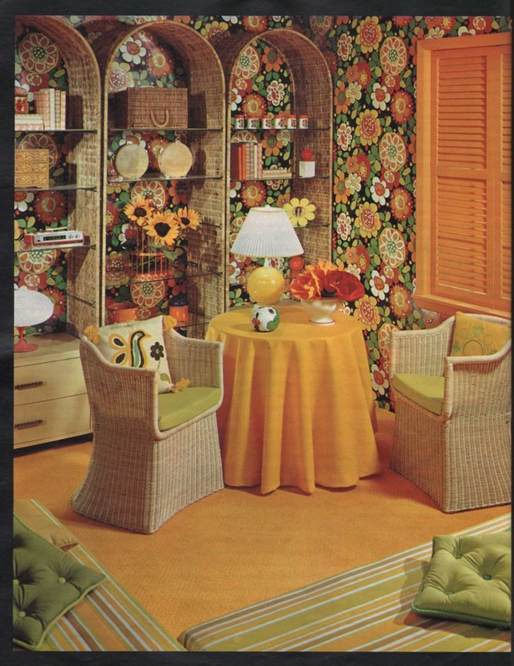 441 best Retro Living Areas images on Pinterest | Lounges, Furniture ...