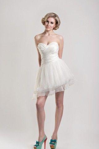 Lovely Short Wedding Dress