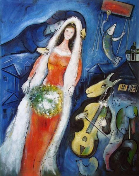 La Mariée Marc Chagall