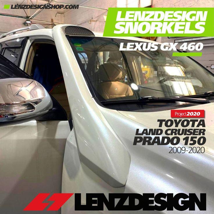 Toyota Land Cruiser Prado 150 Lenzdesign Snorkels 2009