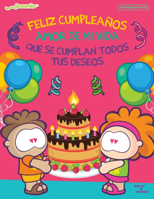 10 Hermosas Tarjetas de Feliz Cumple Amor - http://www.xn--felicitacionesdecumpleao-nlc.com/10-hermosas-tarjetas-de-feliz-cumple-amor/
