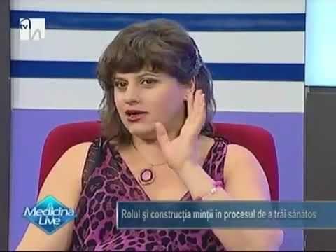 Rolul minții pentru o viață sanatoasa, Niculina Gheorghiță, invitată la Medicina Live, - YouTube