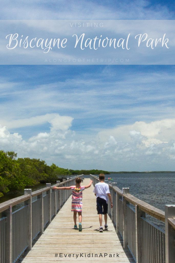 Biscayne National Park is only a short drive from Miami, Florida but feels worlds away. With 95% of the park being covered in water, boats and watercraft are the perfect way to explore this incredible park. Come read why you shouldn't skip this beautiful spot on your next trip to Florida.   #Biscayne #National Park #EveryKidInAPark #Florida