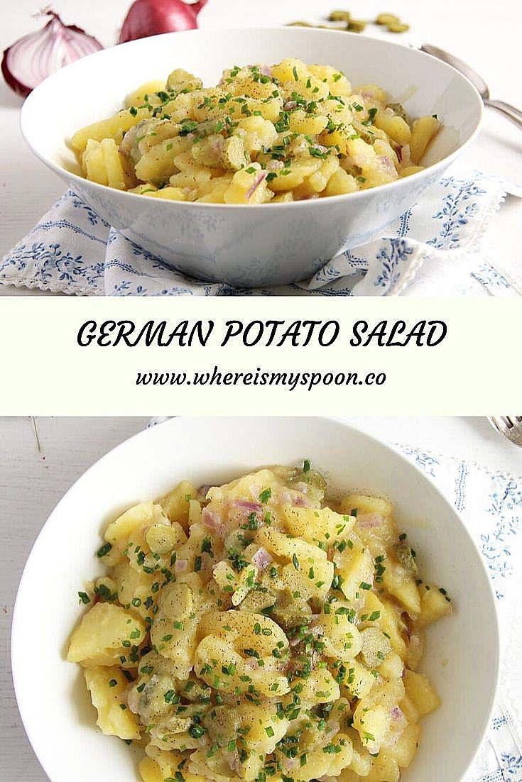 Recipe German Potato Salad Oil Vinegar