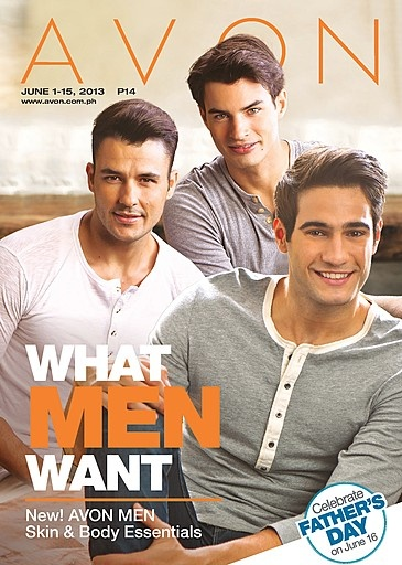 What Men Want: New Avon Men Skin & Body Essentials! Visit www.avon.com.ph for these and other great Father's Day gifts ideas!