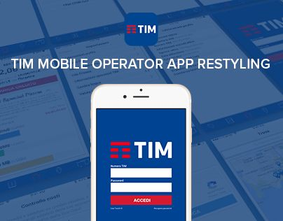 "Check out new work on my @Behance portfolio: ""UI / TIM mobile operator app restyling"" http://be.net/gallery/37771169/UI-TIM-mobile-operator-app-restyling"