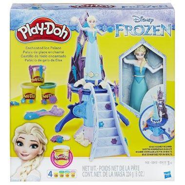 Play-Doh Disney Frozen Elsa kleiset  Beleef je favoriete momenten uit de Disney Frozen film opnieuw met deze mooie kleiset. Druk op de hendeltjes en laat Elsa draaien in wervelwolken Play-Doh ijs & sneeuw!  EUR 19.98  Meer informatie