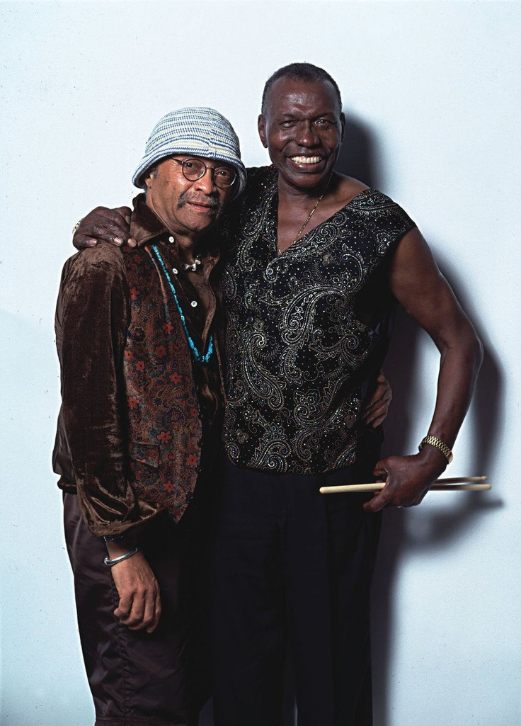 Cecil Taylor & Elvin Jones, 2000. 2 awesome musicians I was blessed to see perform.