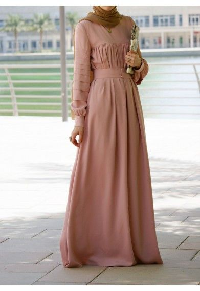 Modest long sleeve maxi dress full length stylish trendy fashion | Mode-sty tznius hijab muslim mormon jewish christian lds islamic