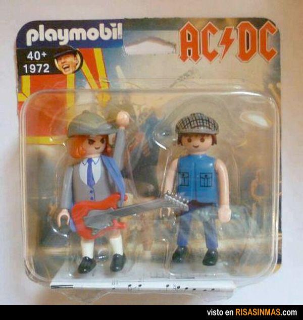 Playmobil AC-DC, los playmobil para más de 40.