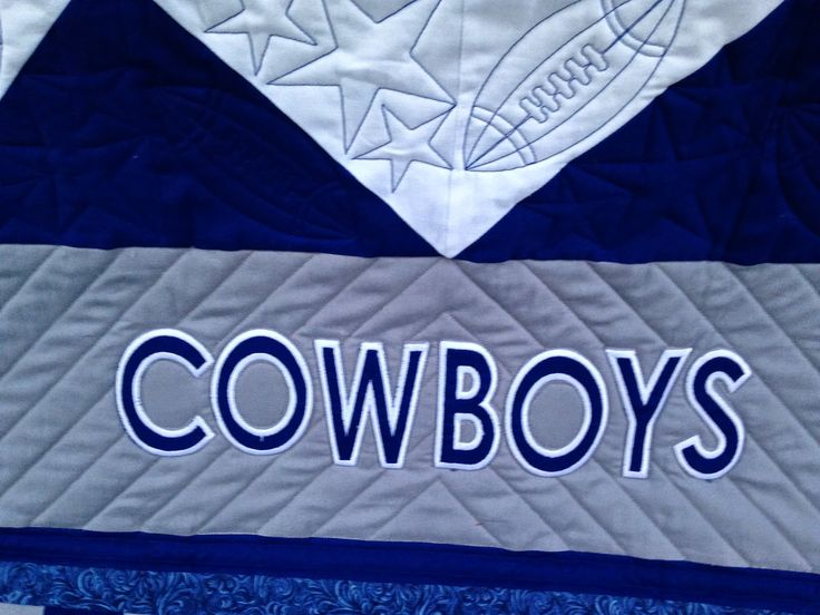 Dallas Cowboys Quilting Eye Candy | The Quilting Queen Online